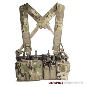 Haley Disruptive Environments 762 Heavy Chest Rig D3CR Multicam X Harness