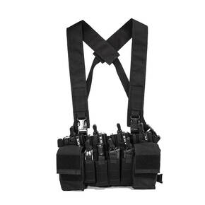 Haley D3CR X Chest Rig Black