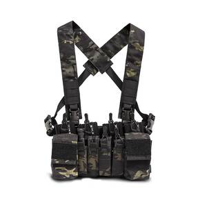 Haley D3CR X Chest Rig Black Multicam