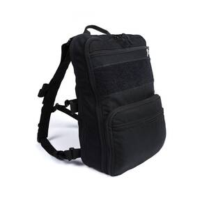 Haley Flatpack Plus with Straps Black
