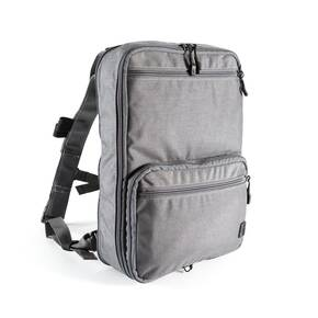 Haley Flatpack Plus with Straps Grey
