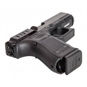 Techna Clip Conceal Carry Gun Belt Clip - Fits Glock 17/19/22/23/24/25/26/27/28/30S/31/32/33/34/35/36/41  Ambidextrous  Black