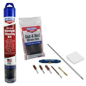 Birchwood Casey Universal Handgun Stainless Steel Cleaning Kit