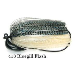 Keitech Tungsten Swim Jig Lure 3/8 oz - Bluegill Flash