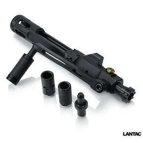 Lantac Enhanced Bolt Carrier Group (BCG) Straight Pull (.223/5.56) - Black Nitride