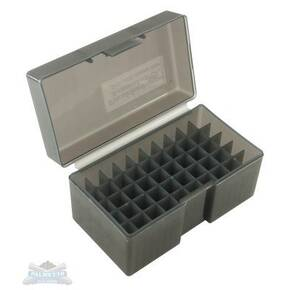 Battenfeld Frankford 509 Plastic Ammo Box PAB .243 .308 Cal 50- Round Gray