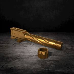 Rival Arms Barrel for Glock 43 Twist Threaded Bronze
