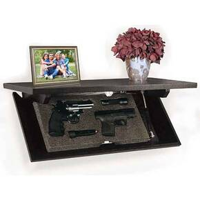 "Personal Security Products Covert Cabinets 24"" Concealment Shelf 3.3""H 11.65""W 24.48""L"