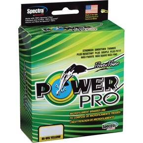 Power Pro Braided Fish Line 15 lb 150 yds - Yellow