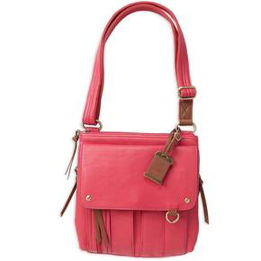Bulldog Medium Cross Body Style Purse w/Holster - Small Pink