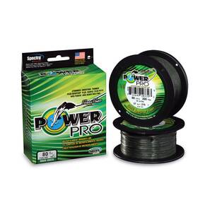 Power Pro Braided Fish Line 50 lb 300 yd - Moss Green