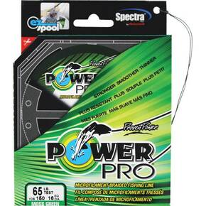 Power Pro Braided Fish Line 65 lb 150 yd - Moss Green