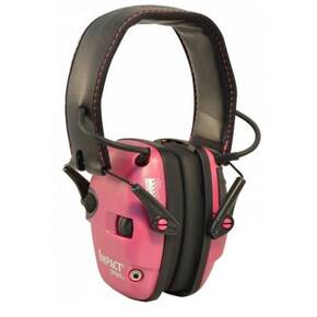 Honeywell Howard Leight Impact Sport Pink Electronic Earmuff