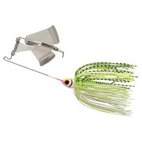 Booyah Single Buzz Lure 3/8 oz - White/Chartreuse Shad