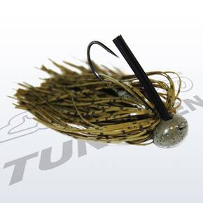 Eco Pro Tungsten Football Jig Lure 1/2 oz - Green Pumpkin