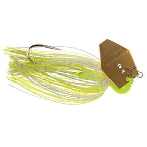 Z-Man Chatterbait Elite Lure Jig Bladed 3/8 oz - Chart/White