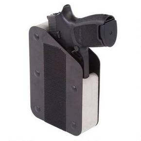 Benchmaster Single Gun Pistol RAC Ready-Access Storage Case - Velcro Hook