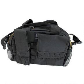 Bulldog Tactical Range Bag w/MOLLE Mag Pouches - Black