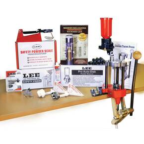 Lee Classic Turret Press Kit w Pro Auto Disk Powder Measure