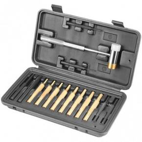 Wheeler Hammer and Punch Set with Plastic Case