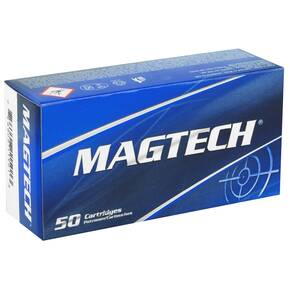MagTech Handgun Ammunition 9mm Luger 124 gr FMJ 1109 fps 50/box