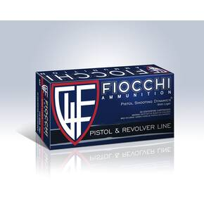 Fiocchi Pistol Shooting Dynamics Handgun Ammunition 9mm Luger 147 gr JHP 975 fps 50/box