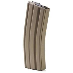 ASC AR Family Rifle Magazine Black Follower .223 Remington Dark Earth Stainless Steel 30/rd