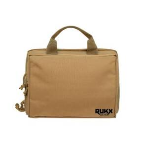 American Tactical Ati Double Pistol Case Tan Rukx Gear