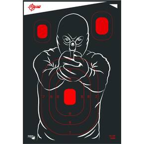 Allen EZ Aim Splash Non-Adhesive Bad Guy Target 12x18 - 5/ct