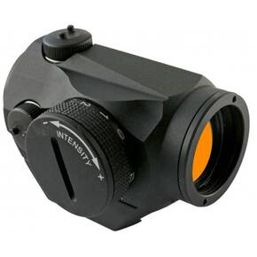 Aimpoint Micro T-1 Night Vision Compatable Red Dot Sight with Integral Picatinny Mount - 1x 2 MOA Dot - Matte