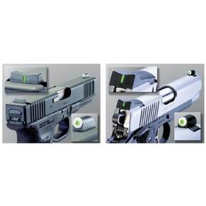 XS Sight System DXT Big Dot Tritium Express Set (Standard Rear) - Fits Colt 1911 & Others 5 in.