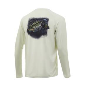 Huk Pursuit Bass And Blue Performance Knits Mens