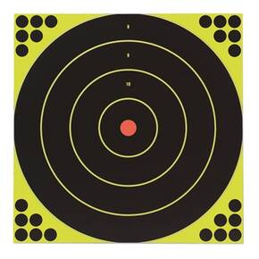 "Birchwood Casey Shoot-N-C 12"" Bull's-eye, 12 targets"