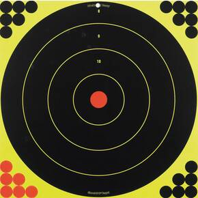 "Birchwood Casey Shoot-N-C Bull 17.25"" Bull's-eye Target, 5 Targets"