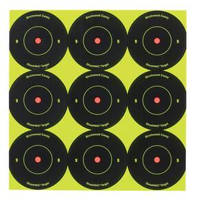 "Birchwood Casey Shoot-N-C Targets 2"" Targets, 10/Pack"