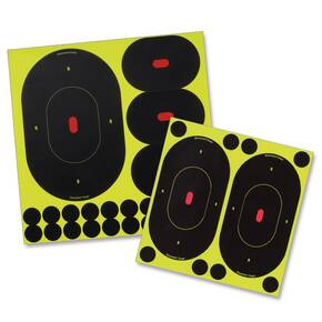"Birchwood Casey Shoot-N-C - 9"" and 4"" Target/Packs"
