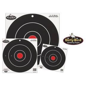 "Birchwood Casey Dirty Bird Bull's Eye Targets 17.25"", 5/Pack"