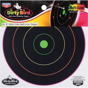 "Birchwood Casey Dirty Bird Multi-Color Splattering Targets 8"" Target - 20 Targets"