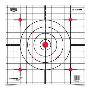 "Birchwood Casey Eze-Scorer Targets Paper Targets 12"" Sight-In (13-Pack)"
