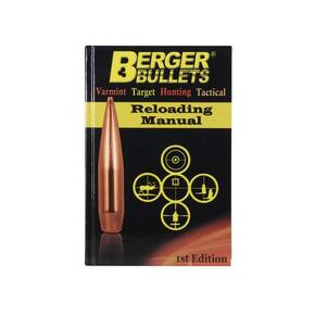 Berger Bullets Reloading Manual - 1st Edition (2013)