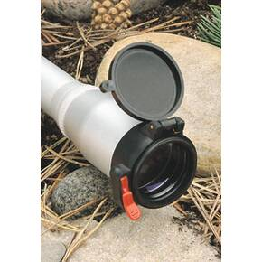 "Butler Creek Flip-Open Eyepiece Scope Cover - 1.66x1.45""/42.2x36.8mm MFG 20150 Size 15"