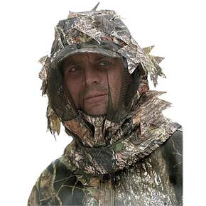 Bug Tamer 3-D Big Leaf Head Net w/Face Shield - Mossy Oak Break-Up Small/Medium