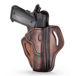 1791 BH1 Holster Brown on Black RH