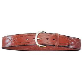 "Bianchi Model B21 Contour Belt, 36"" Plain Tan"