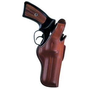 "Bianchi Model 5BHL Thumbsnap - S&W 34 Kit Gun 4"", Right Hand, Plain Tan"