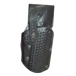 Bianchi Model 3000 Auto Draw Holster, Left Hand, Basket Black