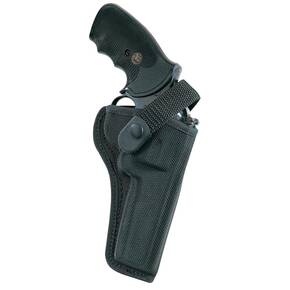 "Bianchi Model 7000 AccuMold Sporting Holster, S&W 19, 586 4"", Right Hand, Black"