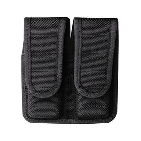 Bianchi Model 7302H AccuMold Double Magazine Pouch, for Glock 20, 21, Hook and Loop, Black