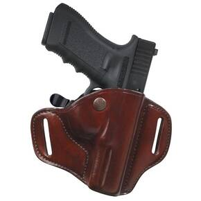 Bianchi Model 82 CarryLok Hip Holster, Colt Government, Right Hand, Plain Tan