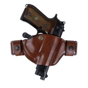 Bianchi Model 84 SnapLok Holster, Beretta 92FS, 96FS, 92D, Right Hand, Plain Tan